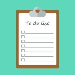 Seller's To-Do List